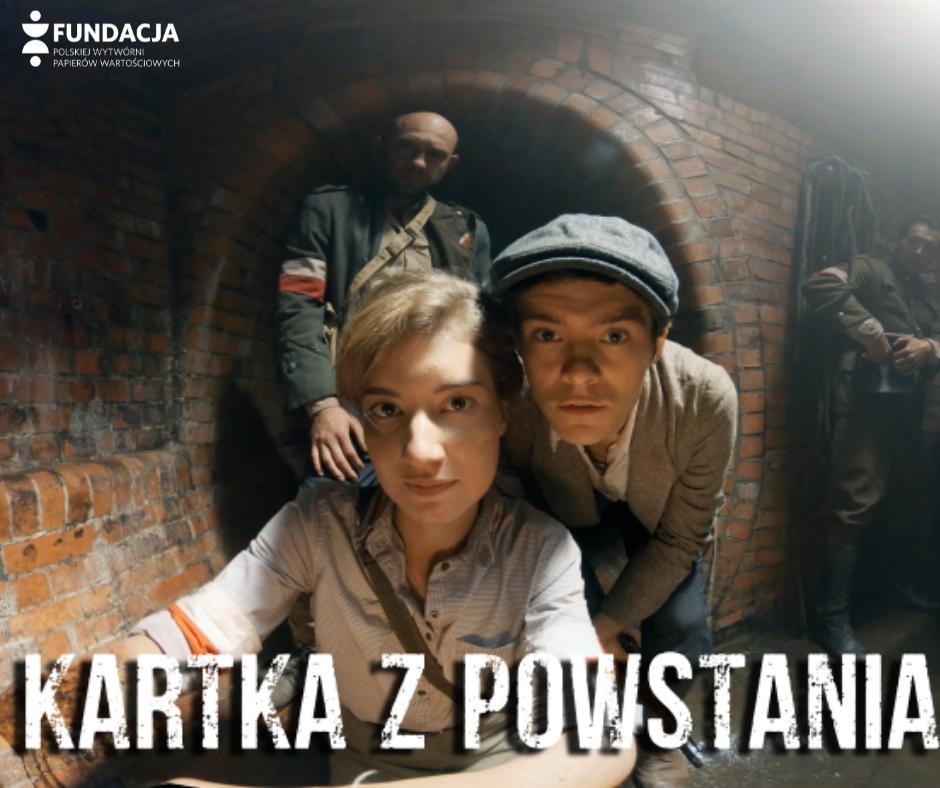 """Wystawa VR """"Kartka z Powstania"""" w Hali Koszyki"""